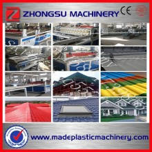 BEST Price plastic upvc pvc roof tiles roofing sheet making machine