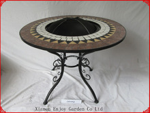 Outdoor Mosaci fire pit table