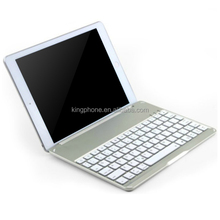 For ipad air ultrathin slim aluminium bluetooth keyboard with retail packaging