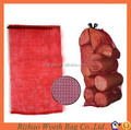 hdpe knitted mesh Packing Bag For Firewood