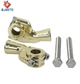Wholesale Price Chinese Manufacture Factory Motorcycle Parts Brass 1'' 25.4mm Hole 14cm*10cm*5cm Pair Handlebar Riser Handlebar