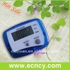 Shenzhen ABS plastic fitness equipment Calorie counter pedometer fit