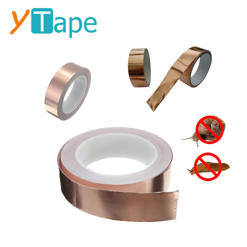 Self Adhesive Repel Original Copper Barrier Foil Slug and Snail Repellent Tape 22mm W x 1m L