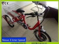 lohas 250w 350w easy drive Electric tricycle no stuck feeling same function like EPS System (Electric Power Steering)