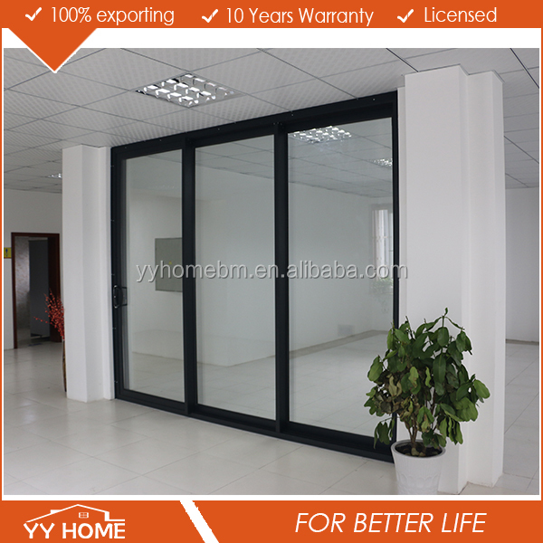 YY Home heavy duty aluminium sliding glass sliding door