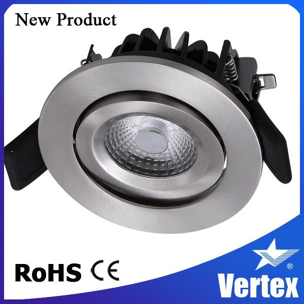 Newest models 8w dimmable anti-glare led recessed down light