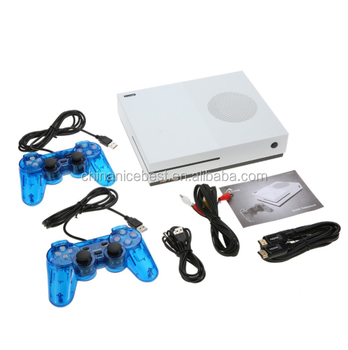 Classic Retro 600 Games TV Movie HD Output Video with 2 Joysticks X Game Console