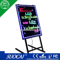 advertising products neon outdoor led digital sign board