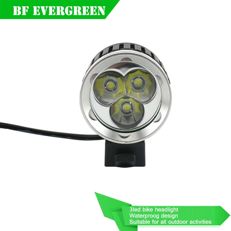 OEM SUPPLY first class waterproof cree t6 bike light for traffic safety 4000Lumen
