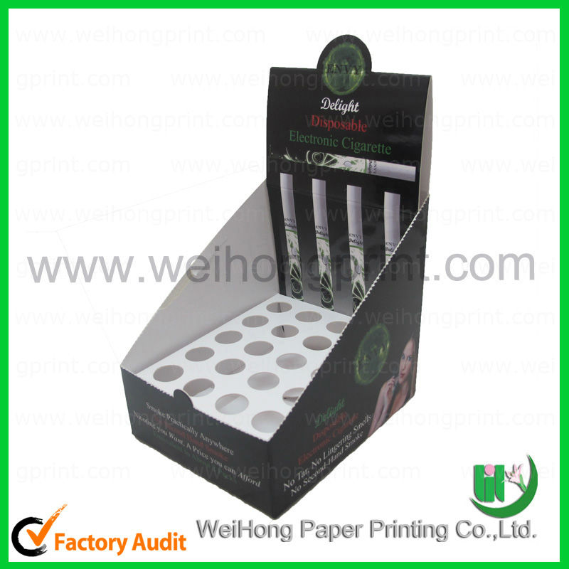 High quality electronic cigarette counter display box
