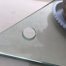 Chinese factory,supply 3.2mm~12mm density toughened glass with drill hole