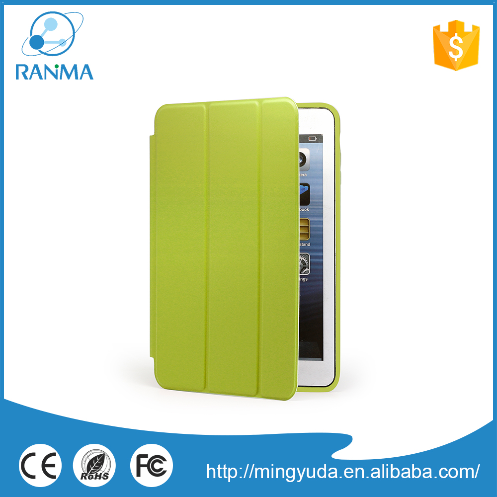 Online wholesale shop ultra slim leather tablet cover case for ipad mini
