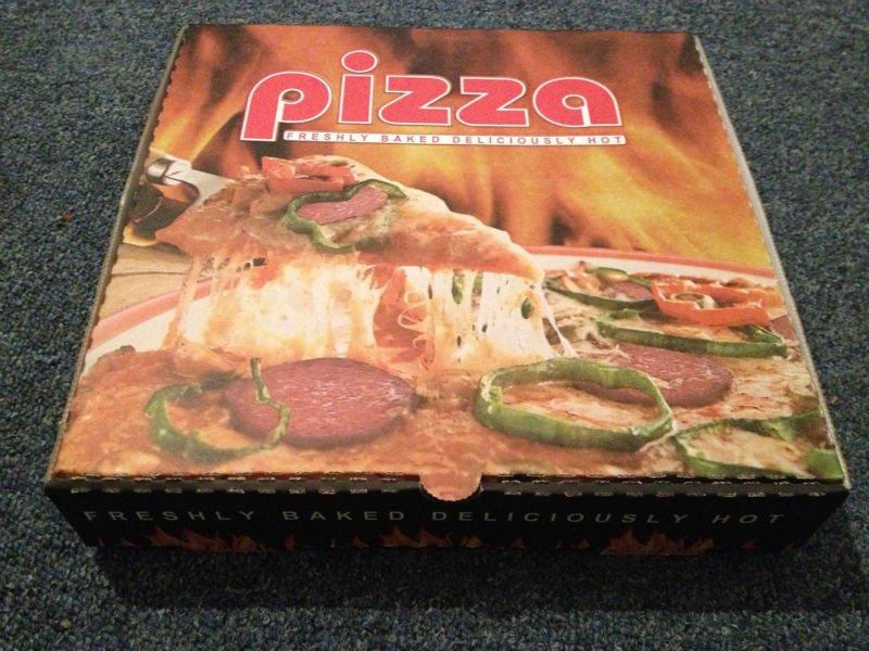 full colour pizza boxes