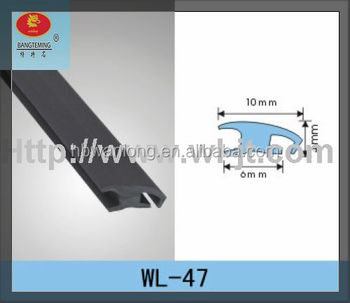 Factory customized flexible plastic desk edging strip RS09