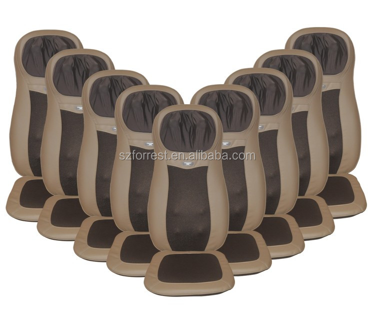 Shenzhen reliable professional massager equipments manufacturer Massager Cushion with tapping