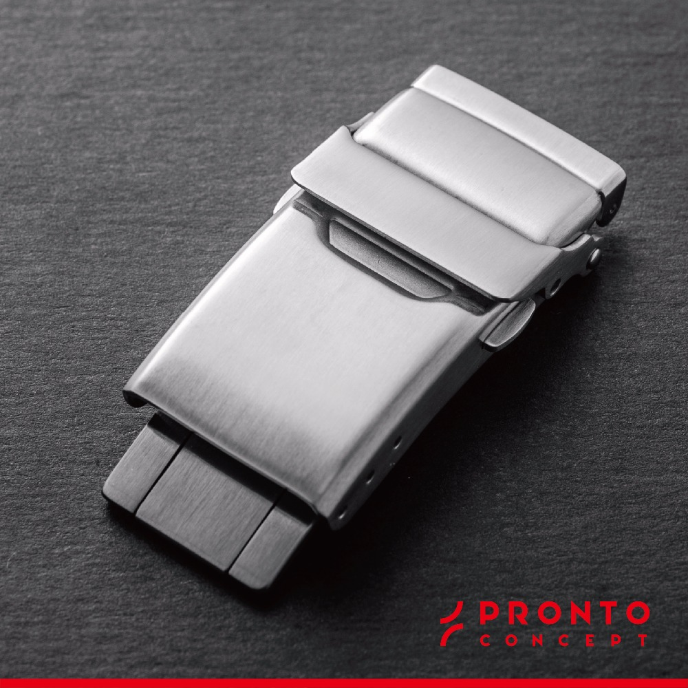 Luxury Quality One Folder Deployment (with safety lock) Traditional & Smart Watch Buckle