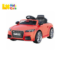 Licensed Audi TTS Kids Ride On Car Toy 12V electric vehicle baby battery operated car
