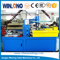 Full automatic cable coiling equipment