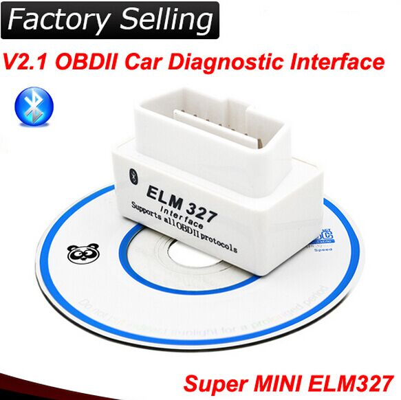 China factory obdii elm327 car obd interface
