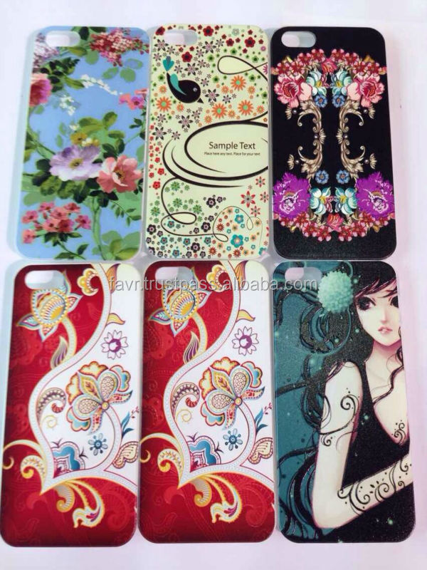 iphone Cover! can print every picture! For iPhone 5 5S 5G UV LED INK christamas design