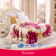 Chinese Manufacturer branded 100% polyester blanket on sale