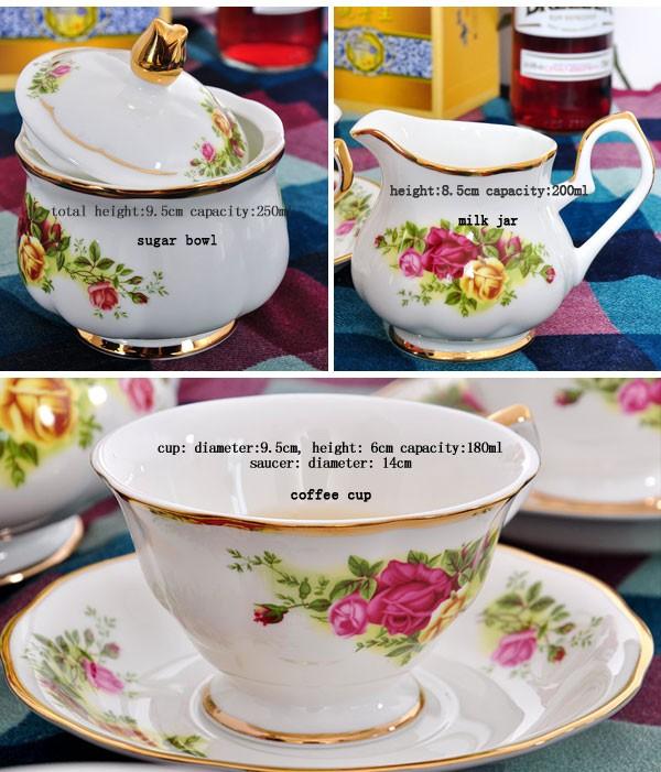 Venta online de alta calidad 15 unids juego de té/fine bone china ...