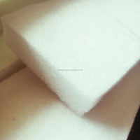 Eco-friendly Thermal Bonded polyester cotton wadding /padding/filter material
