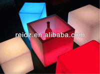 New design full colorledled cube light for wedding decoration