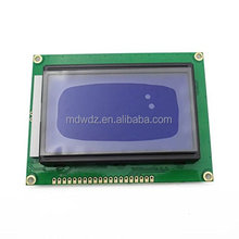 12864 LCD module 5V blue screen 12864 LCD ST7920 with backlight Universal serial port LCD12864