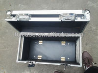 heavy-duty black aluminum tool case is very firm