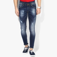 wholesale men damaged jeans Fashion skinny fancy jeans cheap price