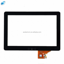 10 Inch Cover Glass Sensitive Capacitive Touch Screen Panel For Sale
