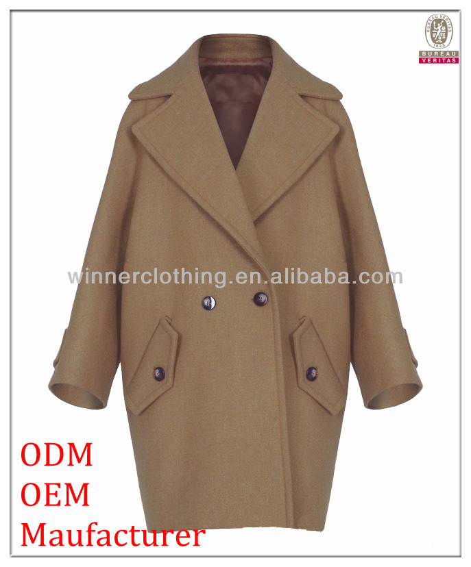 Simple fashion brand ladies coats pictures