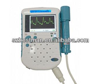 Flat probe Blood stream status detector vadcular doppler from China manufacturer Unidirectional BV-520T TFT