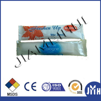 Spunlace nonwoven soft material single roll finger wipe