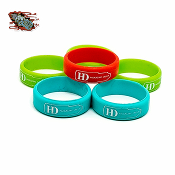 OEM VAPE BANDS with logo printing