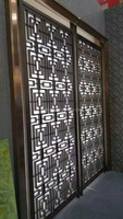 Classical design custom stainless steel decorative screen,metal wall mounted screen