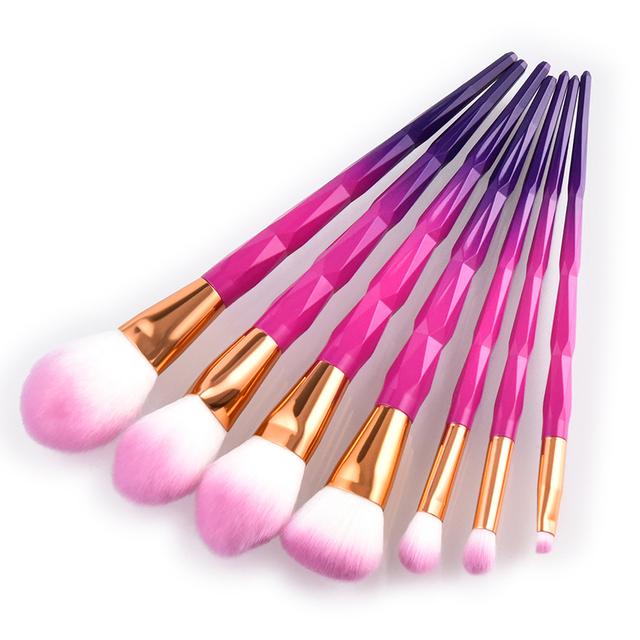7 pcs creative fashion makeup brush set new design Cosmetic Makeup Brush