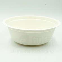 500ml bagasse bowl eco-friendly disposable biodegradable salad bowl
