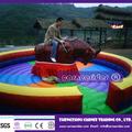 inflatable Mechanical bull bounce game price for sale