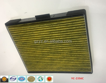 cabin filter for automobile car Hyundai 1.6/1.8 OEM:97133-2D000B