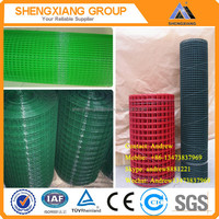 Galvaized/PVC Coated Welded Wire Mesh With ISO9001 ISO14001 and TUV Certification (Factory)