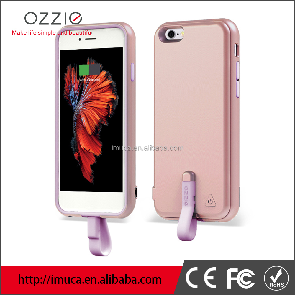 OZZIE Weight 80.5g backup battery case for iphone6