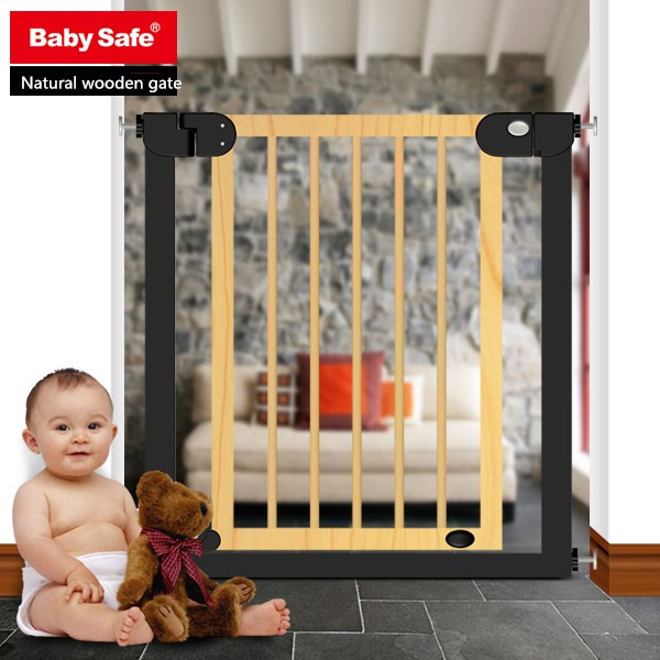 cheap wood barrier and baby safety gate
