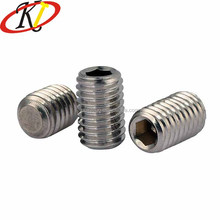 M8 M9 M10 Headless Stainless Steel Set Screw Hex Socket Grub Screw