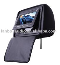 7'' Headrest Car DVD Player with IR infrared transmitter