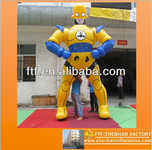 2013 new style advertising 4m H PVC inflatable Animated cartoon characters