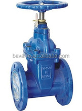 DN25 one-way flange connection rising stem gate valve
