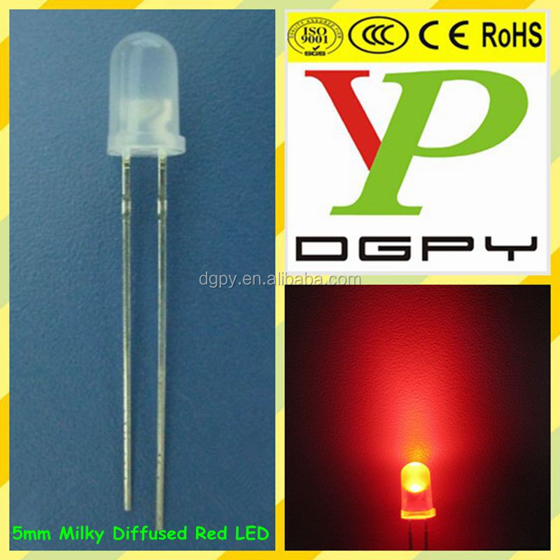Factory Hot Sale DIP 3mm 5mm LED Diodes ( CE & RoHS Compliant )