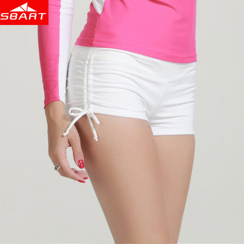 Wholesales women's lycra fitness beach shorts sexy lady quick dry surf suit booty shorts
